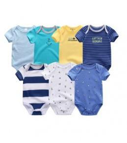 Vêtements pour bébé Lot de 7 Barboteuse pour bébé  unisexe de 3 Mois