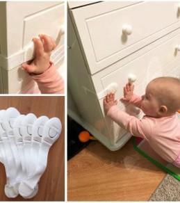 Dispositif de verrouillage de sécurité pour les enfants