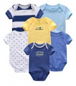 Vetements pour Bébé lot de 6 barboteuse pour bébé 6 Mois garçon