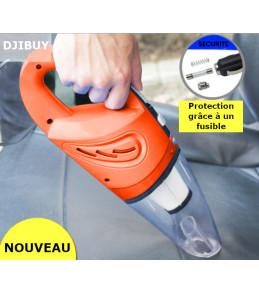 Mini Aspirateur Voiture 12V 120W Nettoyage Poussière