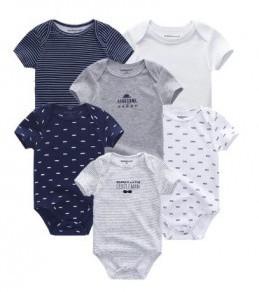 Vetements pour Bébé lot de 6 barboteuse pour bébé 3 Mois garcon