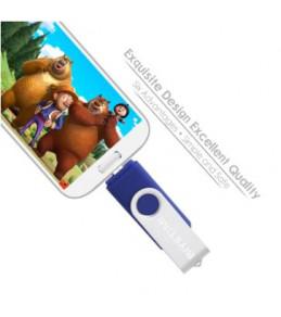 Clés USB Disque amovible deux entrée Micro USB/USB 16/32/64 Go