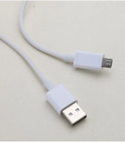 Cable Micro USB pour chargeur 0,8 m